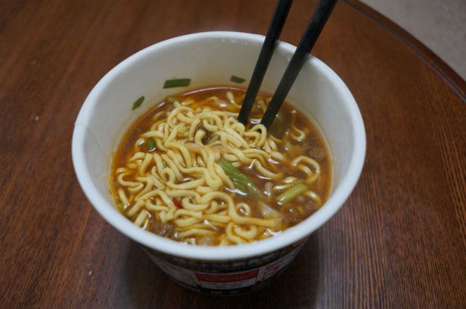 ギョーザパンチラーメン スープ