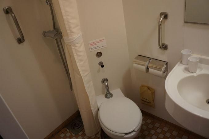 一等和室 トイレ