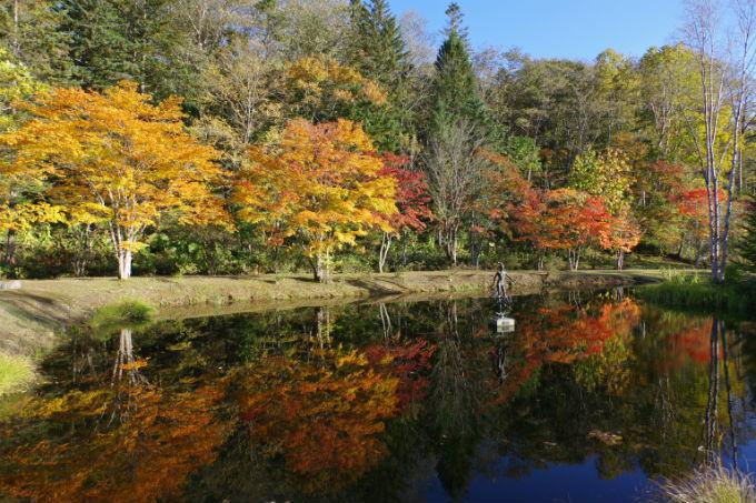 福原山荘 池