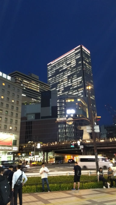 Moto G5 Plus(夜景)
