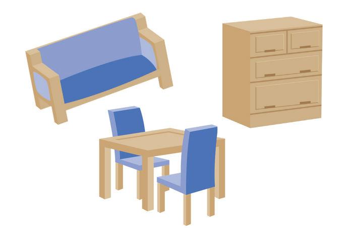引っ越し 家具