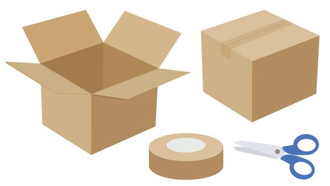 荷造り イメージ