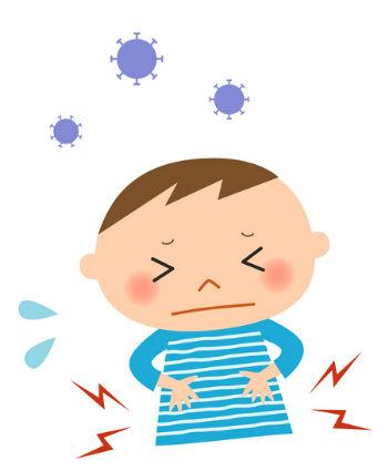 ロタウィルス 症状 イメージ
